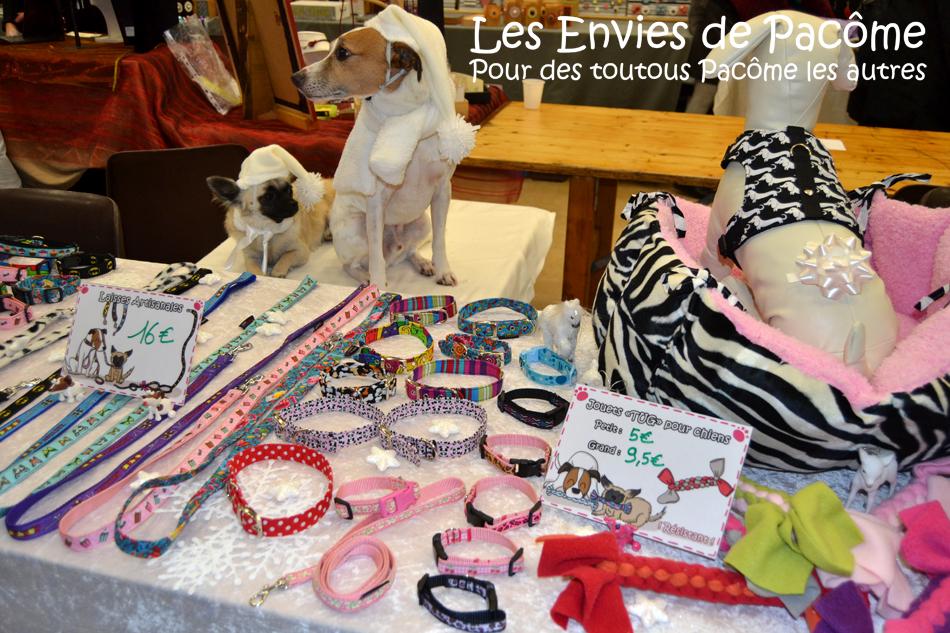 marché de noel saint pol (3)colliers artisanaux chiens